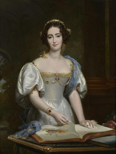 François-Pascal-Simon, called Baron Gérard, 'Victurnienne Louise Valentine de Berton des Balbes de Crillon, Duchesse de Pozzo di Borgo', 1832