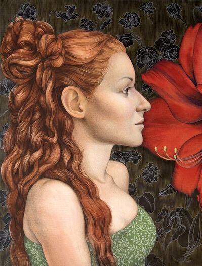 Michael Bergt, 'Flora Portrait'