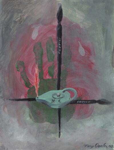 Tony Oursler, 'XC London Poetics', 2003