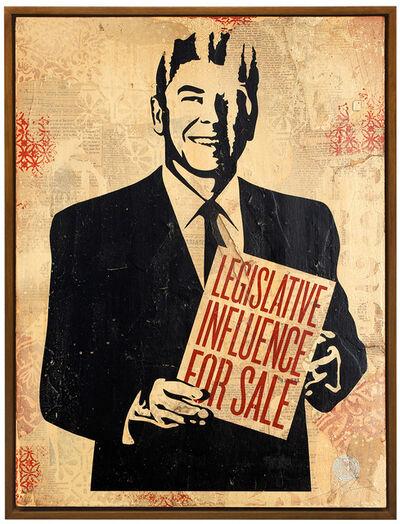 Shepard Fairey, 'Legislative Influence For Sale', 2012