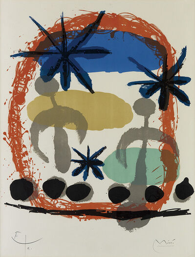 Joan Miró, 'Affiche De l'Exposition Constellations', 1959