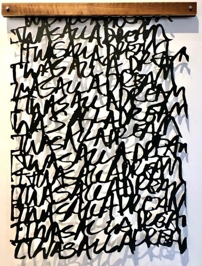 """Christopher West, '""""Untitled"""" (It Was All A Dream)', 2019"""