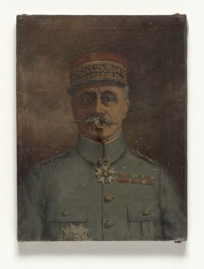 Marcel Broodthaers, 'Untitled (General with cigar)', 1970