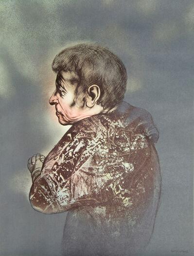Rafael Coronel, 'Portrait XIX from Galeria de Arte Misrachi Portfolio', 1978