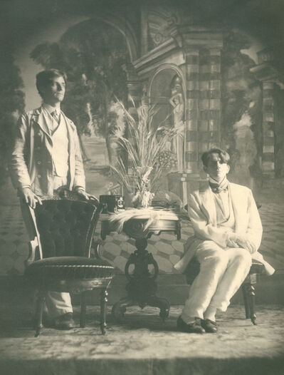 McDermott & McGough, 'Portrait of the artists, 1928', 1990
