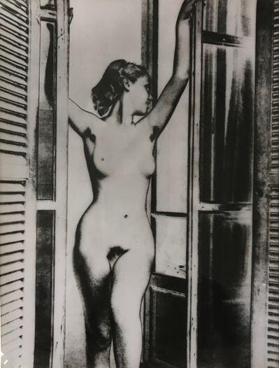 Marcel Bovis, 'Nude solarisation', ca. 1935