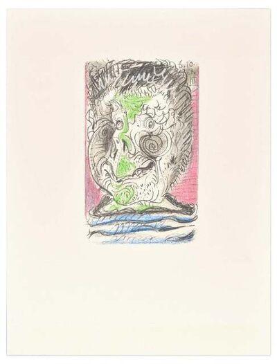 Pablo Picasso, 'Le goût du Bonheur - 6.10.64 XIII - After P. Picasso', 1998