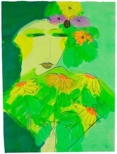 Walasse Ting 丁雄泉, 'Marguerite', 1990-2000