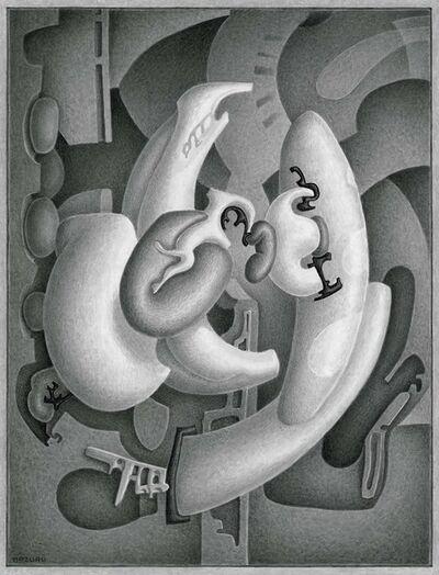 Didier Mazuru, 'Mécanosphère 9', 1989