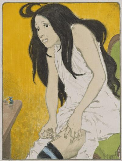 Eugène Samuel Grasset, 'La Morphinomane [The Morphine Addict]', 1897