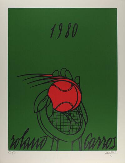 Valerio Adami, 'Roland Garros (vert)', 1980