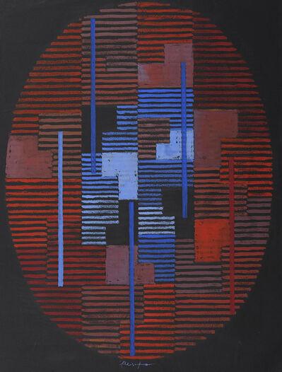 Adolf Fleischmann, 'Composition ovale'