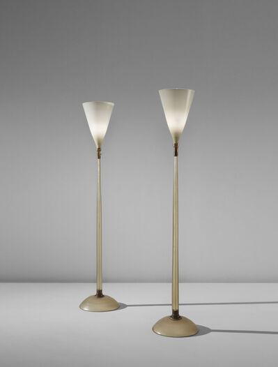 Carlo Scarpa, 'Pair of floor lamps, model no. 518', circa 1942