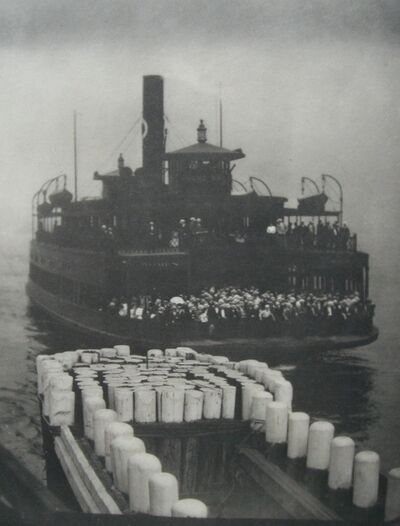 Alfred Stieglitz, 'The Ferry Boat', 1910