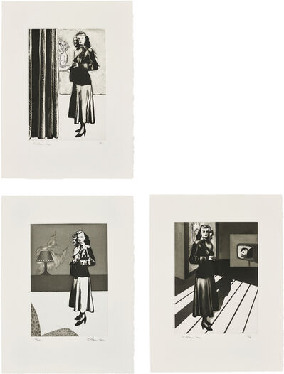 Richard Hamilton, 'Patricia Knight I, II and III', 1982