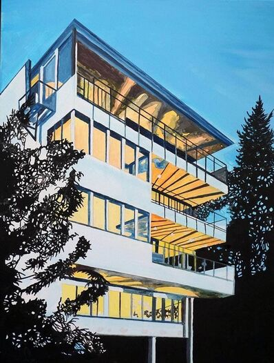Eamon O'Kane, 'Neutra Building at Night', 2017