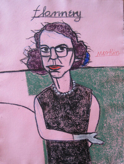 Richard Merkin, '(406) Flannery O'Connor', 1980-2000