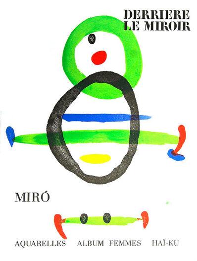 Joan Miró, 'Joan Miró Derriere le Miroir 1967 (lithographic cover)', ca. 1967