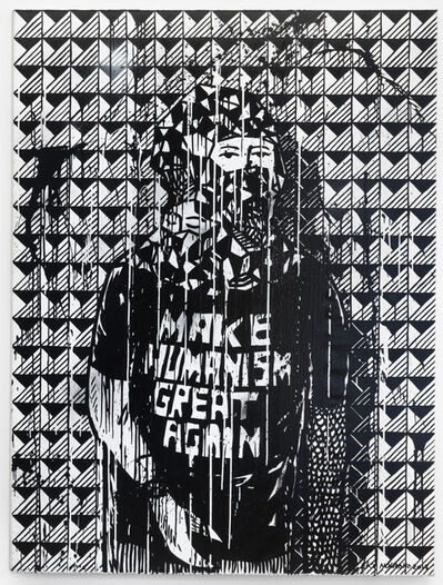Eko Nugroho, 'Make Humanism Great Again', 2017