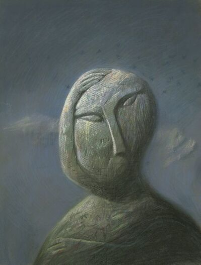 Shaun Tan, 'Head: Stoneface', 2016
