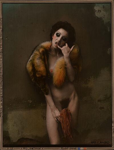 Jan Saudek, 'Milly, the Dancer', 1987/1980s
