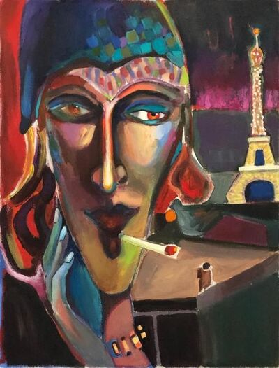 Edmund Ian Grant, 'Bonsoir Paris', 2019
