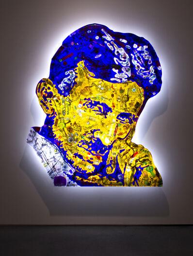 David Černý, 'Nikola Tesla', 2019