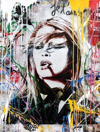Mr. Brainwash, 'Brigitte Bardot', 2017