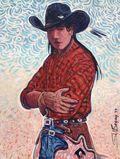 Shonto Begay, 'Wild Draw', 2017