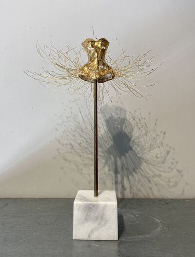 Estella Fransbergen, 'Yellow Gold Overglaze with Swarovski Crystals', 2020