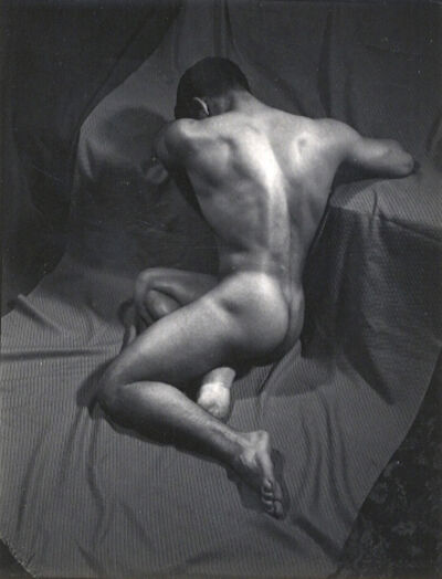 Minor White, 'Gino [Male Nude]', ca. 1938