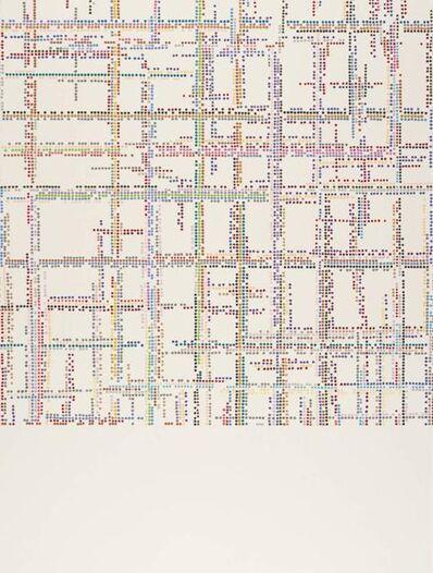 Károly Keserü, 'Untitled (1908013) - XXth Century Series: Piet Mondrian: Broadway under bombing', 2019