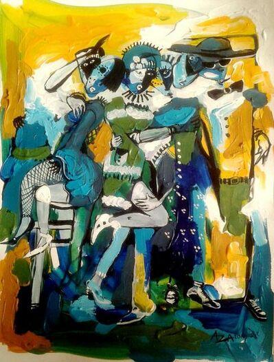 Aza Mansongi, 'Carrefour1', 2018