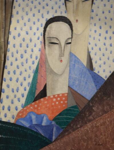 Jean Crotti, 'Femmes aux Longs Cous', ca. 1925