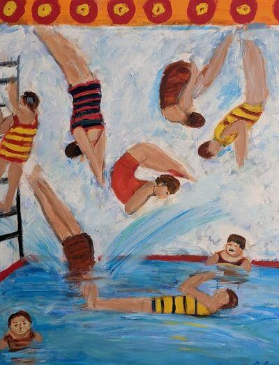 Marjorie Magid, 'The Divers', 2020