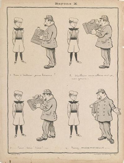 Lucien Métivet, 'Rayons X', 1897
