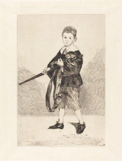 Édouard Manet, 'Child with Sword, Turned to the Left (L'Enfant à l'épée, tourné à gauche)', 1862