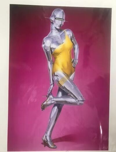 Hajime Sorayama, 'UNTITLED (YELLOW DRESS)', 2019