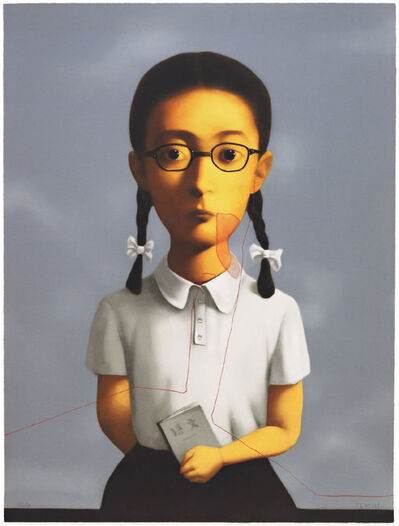 Zhang Xiaogang, 'Blood Line Series - Girl', 2006