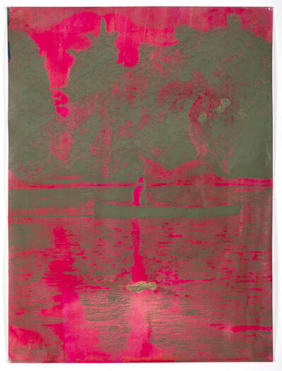 Morten Schelde, 'Dark Canoe', 2020