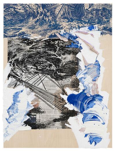 Pia Fries, 'wogen', 2014