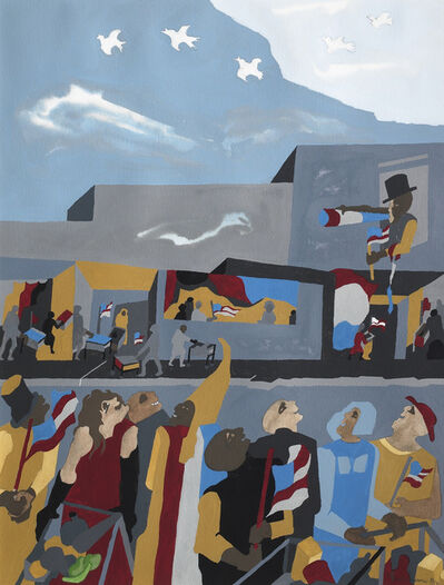 Jacob Lawrence, 'Supermarket - Celebration', 1994