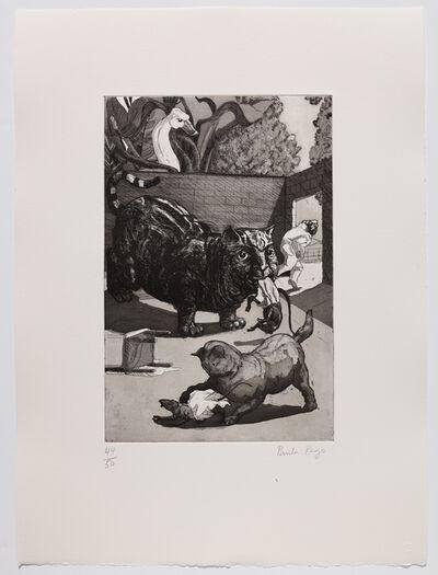 Paula Rego, 'A Frog he would a-wooing go II', 1989