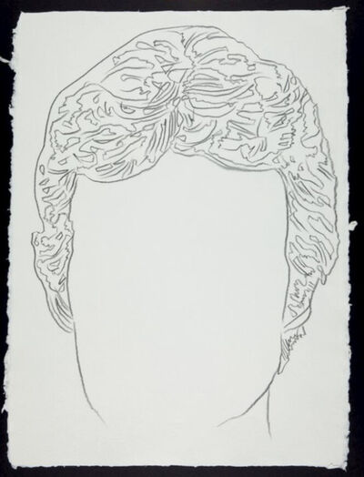 Andy Warhol, 'Male Portrait', 2nd half of the 20th century