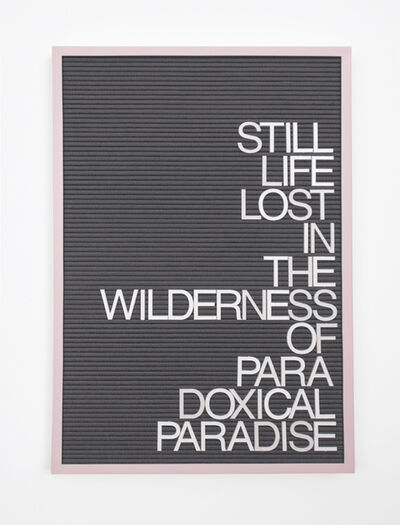 Maynard Monrow, 'Untitled / Paradoxical Paradise', 2017