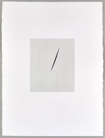 Alison Watt, 'Payne's Grey Split (II) ', 2016