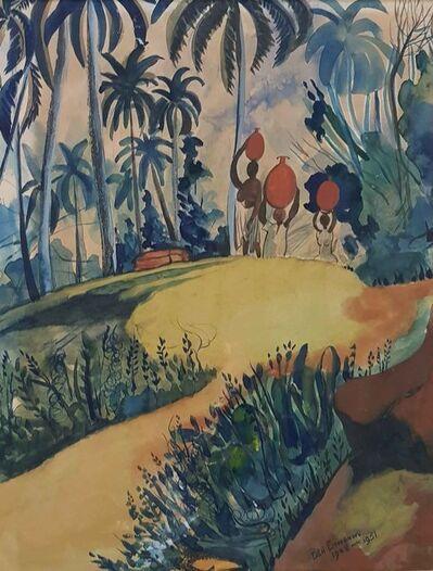 Ben Enwonwu MBE, 'Landscape', 1948-1951