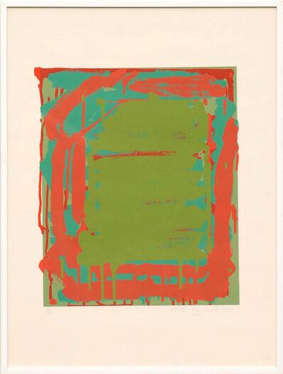 John Hoyland, 'Untitled Green', 1975