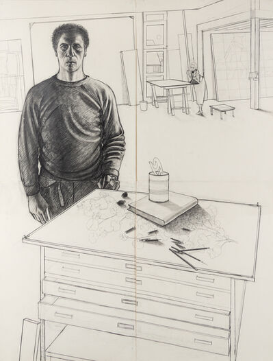 Alfred Leslie, 'The Artist in the Studio', 1979