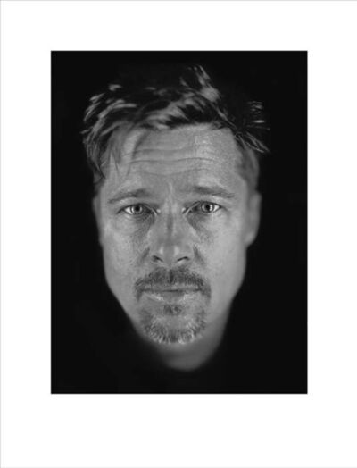 Chuck Close, 'Untitled (Brad #2)', 2009